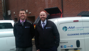 Paul Nelson & John Shaw from AM Support Services