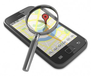 GPS locations can be used to capture information